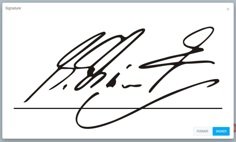 Electronic signatures are safer than paper ones.
